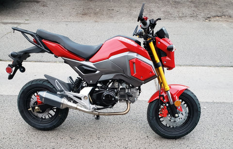 venom x20 gen II honda grom clone motorcycle best grom clone with upgrade exhaust