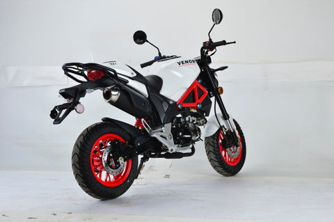 2018 Venom X21RS 125cc Motorcycle Ducati Monster Clone Comparable
