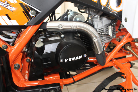 Venom 125cc Madix ATV engine and engine cover 125 powerful engine