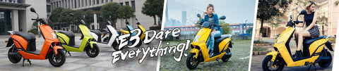 Lifan E3 dare everything poster by Venom Motorsports USA Canada