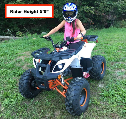 Four Wheelers For Sale Near Me >> 2019 Venom Grizzly 125cc Atv Automatic Transmission Reverse