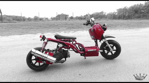 Maddog Scooter Red