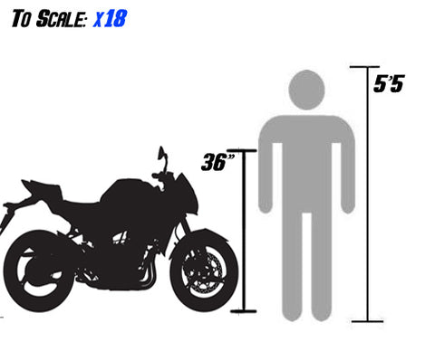 x18 50cc scale size df50sst 49cc moped sizing with person