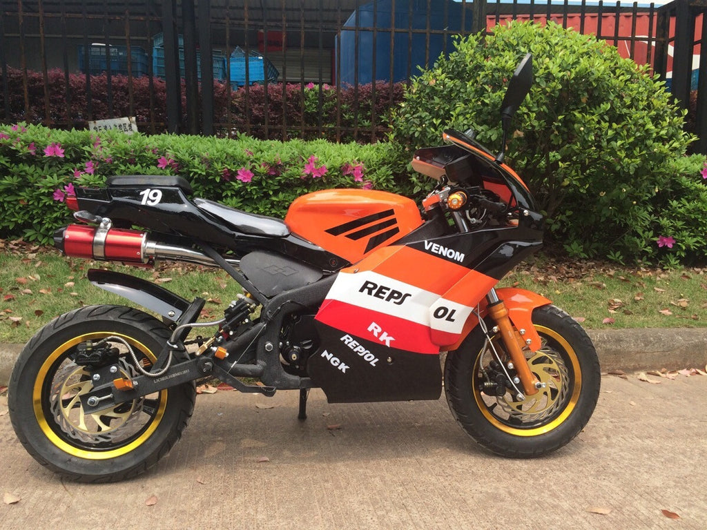 x19 Super Pocket Bike 4 Gears - 2016 REPSOL LIMITED EDITION - Venom Motorsports