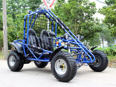 200cc Venom Spider Go-Kart - 2 Seater With Reverse