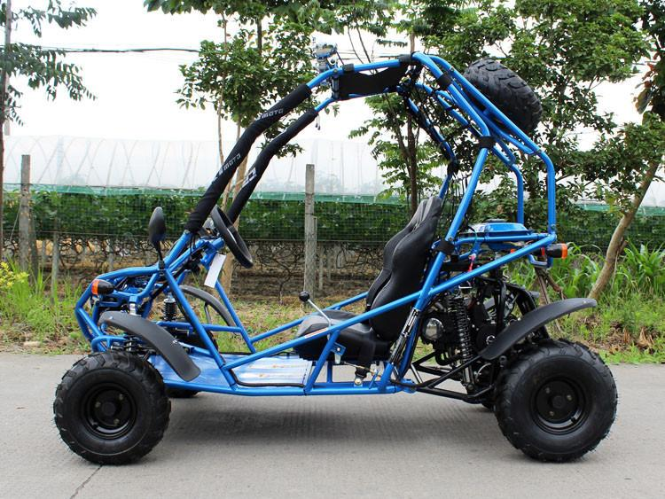 110cc Venom Go Kart With Steel Wheels & Spare - Automatic