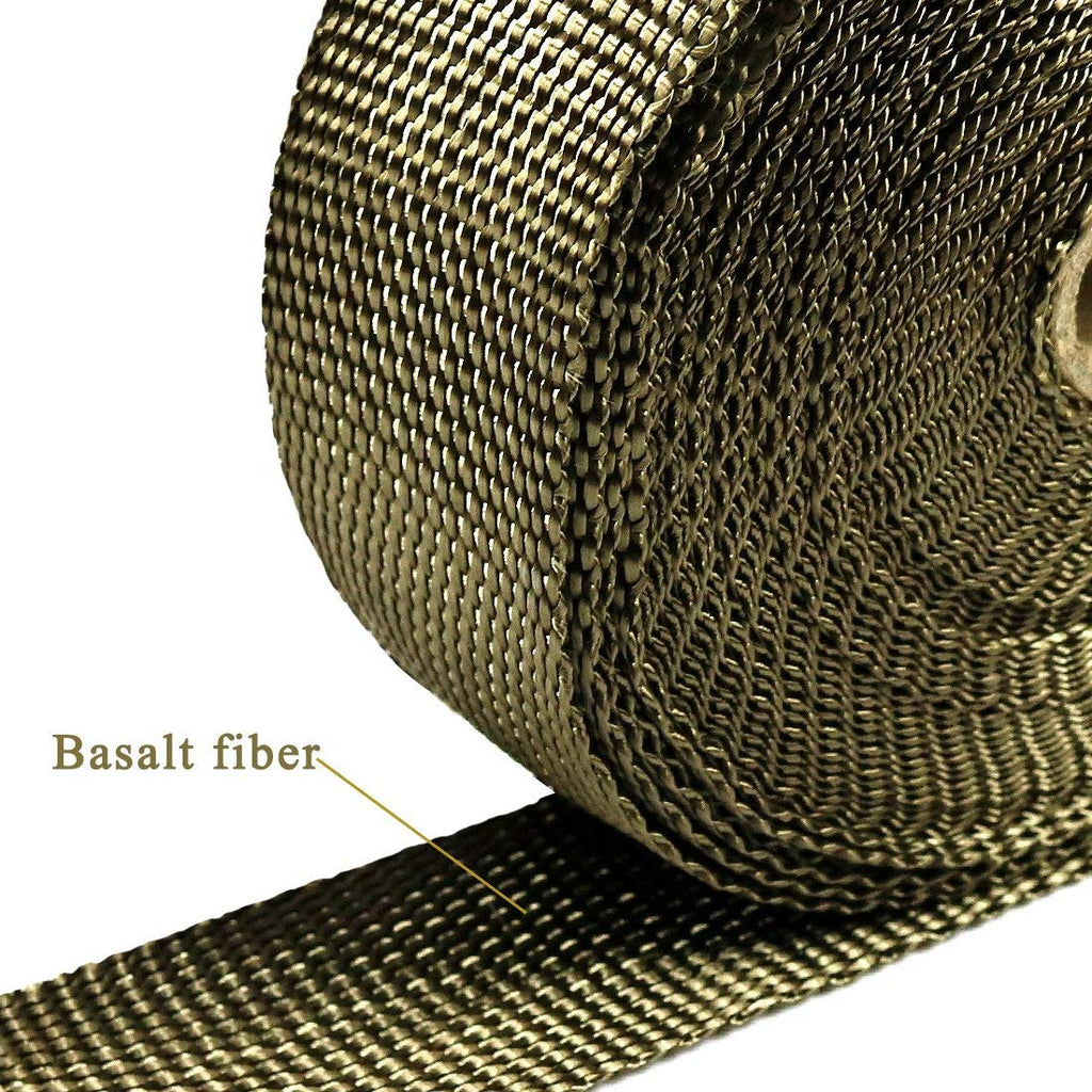 "Motorcycle Exhaust Wrap, 2"" x 50 Ft"