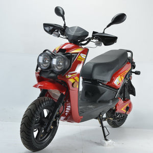 Boom 2000w 72v Electric Moped Scooter BD576Z Red