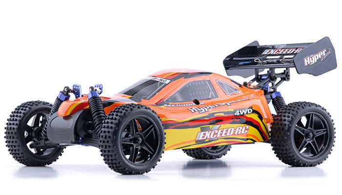 Exceed RC Hyper Speed Beginner Version 1/10 2.4Ghz .16 Engine Nitro Powered Off Road - Venom Motorsports   - 3