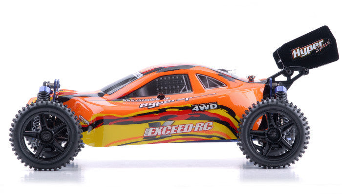 Exceed RC Hyper Speed Beginner Version 1/10 2.4Ghz .16 Engine Nitro Powered Off Road - Venom Motorsports   - 4