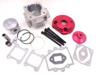 44mm Big Bore Cylinder Kit For 2 Stroke 47cc49cc Engine - Venom Motorsports