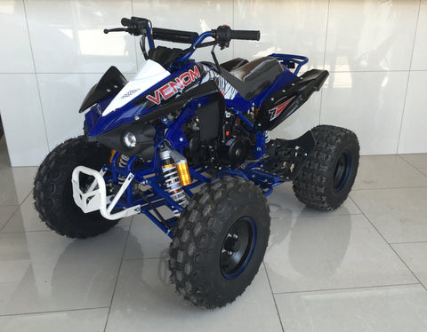 125cc Venom Quad Sport ATV w/ 8'' Big tires - Scorpion Four Wheeler - Venom Motorsports   - 1