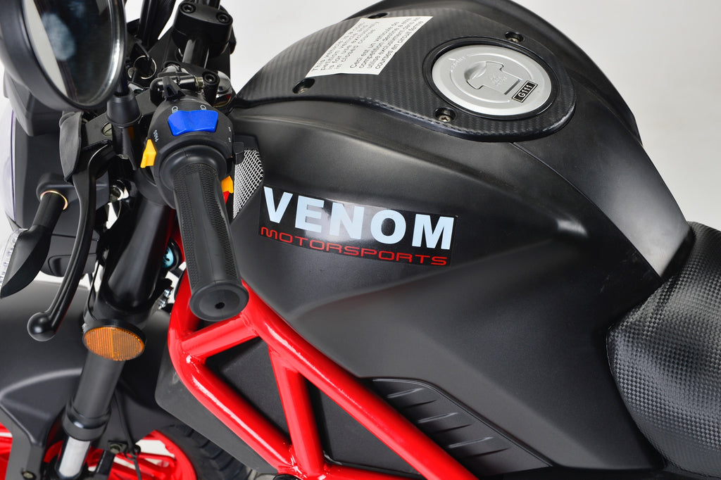 2018 Venom x21RS Monster 125cc Motorcycle