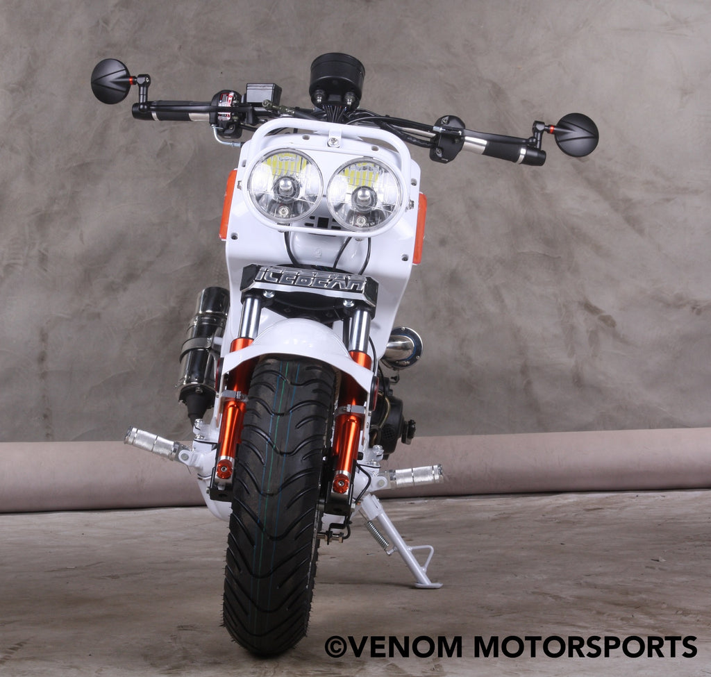 125cc Honda Clone Ruckas Scooter Moped Maddog Pmz50 21 Icebear Mad Dog Wiring Diagram 50cc Generation Iv Street Legal