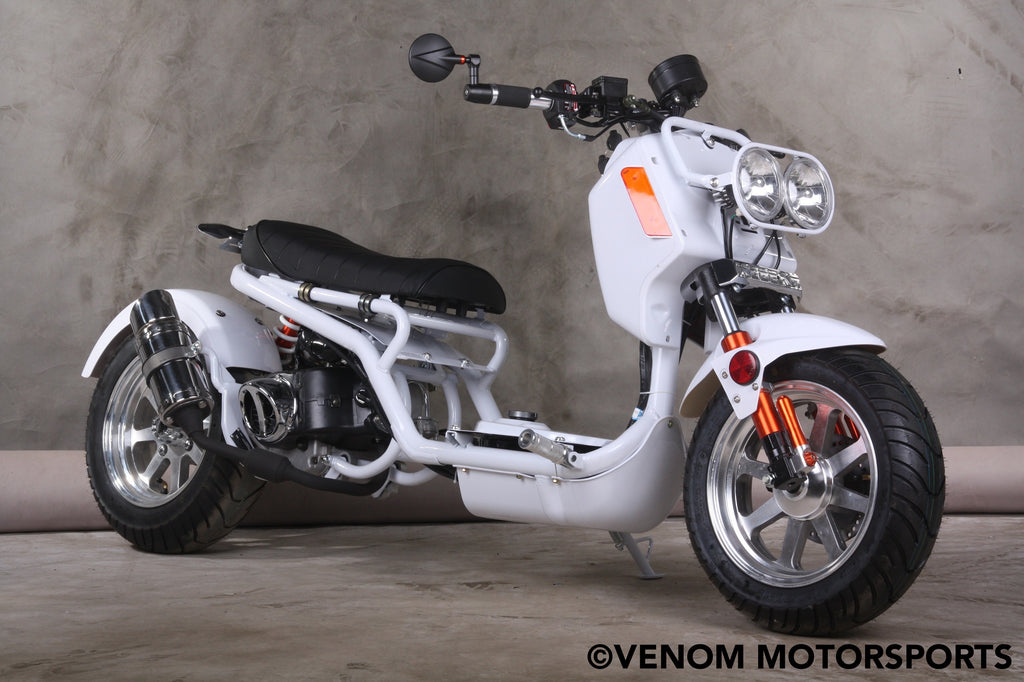 50cc Honda Clone Ruckas Scooter Moped For Sale MADDOG PMZ50