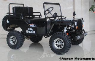 Venom 125cc Mini Jeep | Willys Edition | 3-Speed