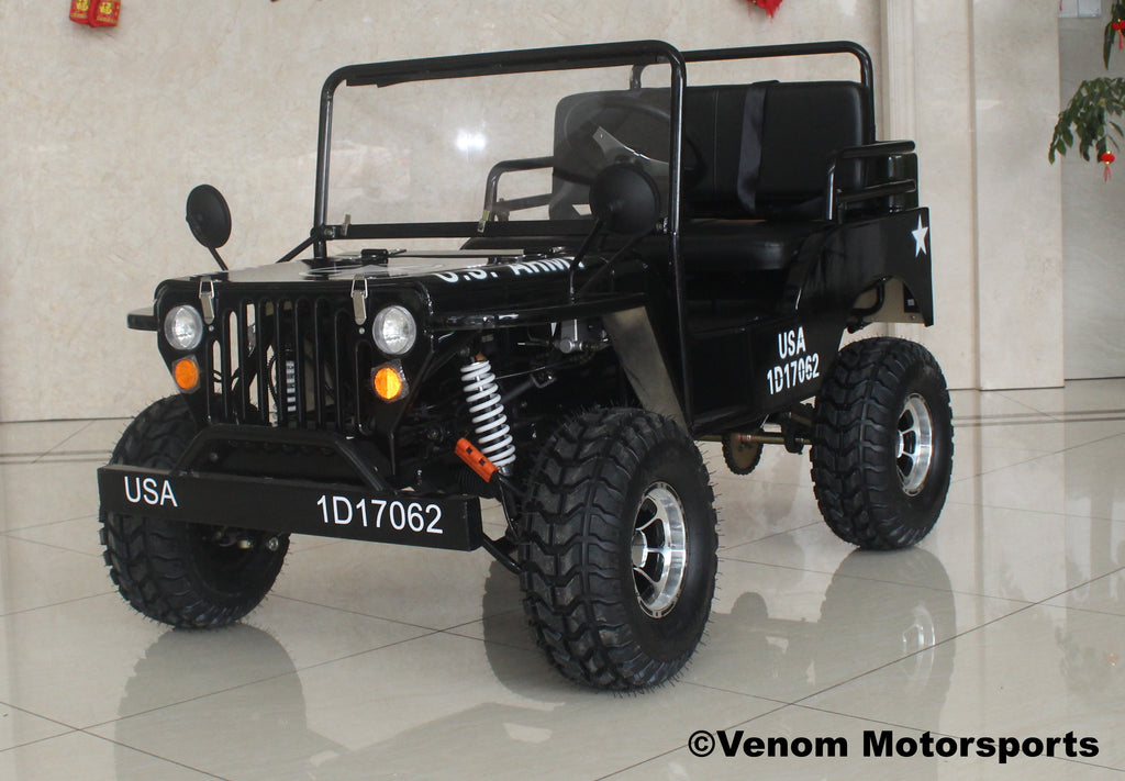 Venom 125cc Mini Jeep | Willys Edition | 3-Speed [PRE-ORDER]