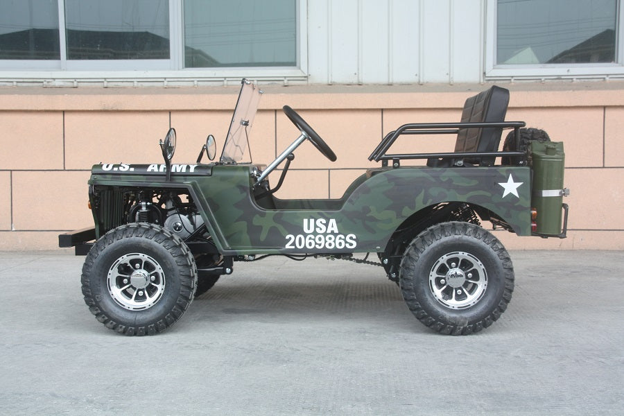 Buy 125cc Mini Jeep 3 Speed Willys Edition For Sale 125cc Go Kart