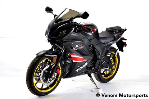 2018 Venom x22-S 125cc Road Legal Motorcycle