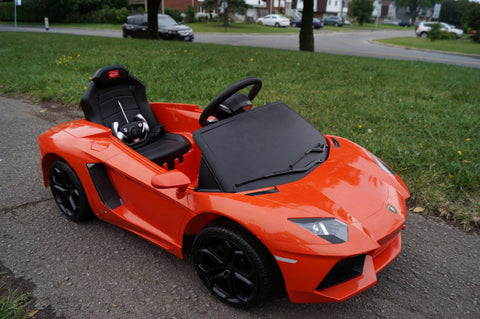 6V Lamborghini Aventador Ride On Toy - Battery Powered - Venom Motorsports   - 1