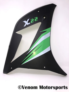 Replacement Left Side Fairing | Venom X22 125cc