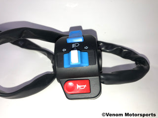 Replacement Left Side Light/Control Switch | Venom X18 50cc