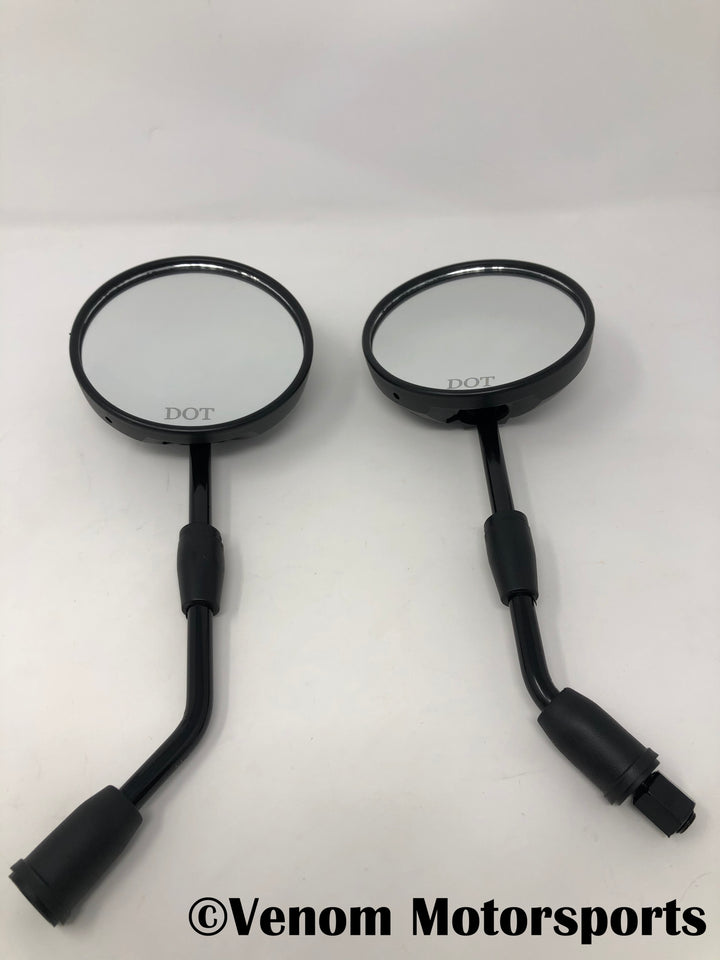 Replacement Set of Mirrors [L+R] | Venom X20 + X21RS 125cc