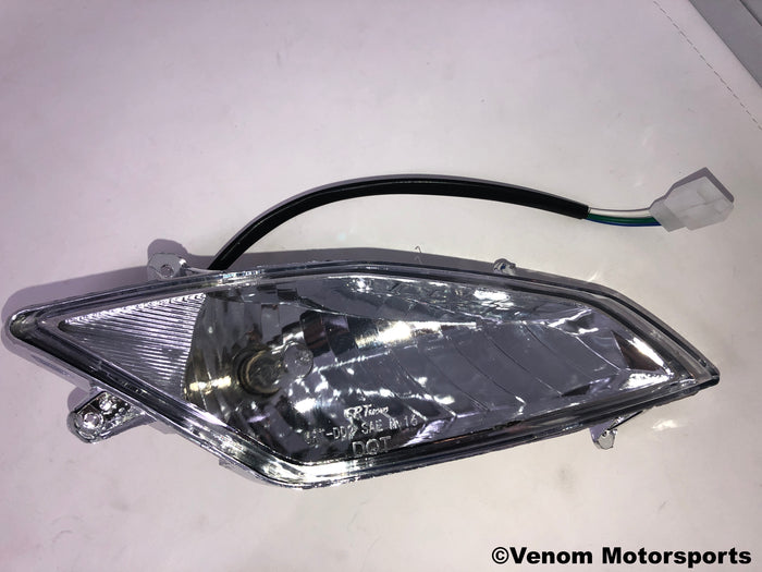 Replacement Headlight | Right Side | Venom X18 50cc