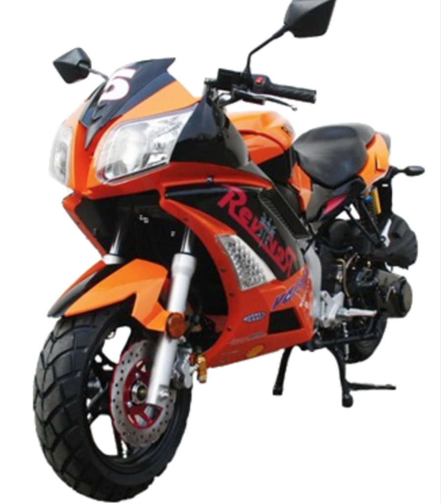 Buy 150cc Automatic X18rs Motorcycle Roma Moto Bravo X18r