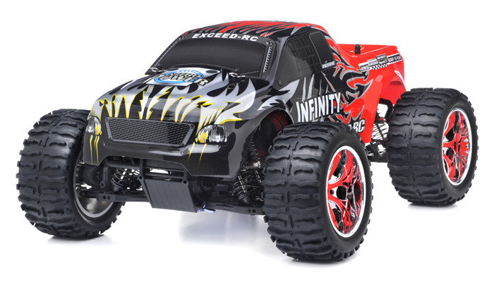 Exceed RC Infinitve Nitro Gas Powered Off Road Monster 1/10 2.4Ghz 4WD - Venom Motorsports   - 1