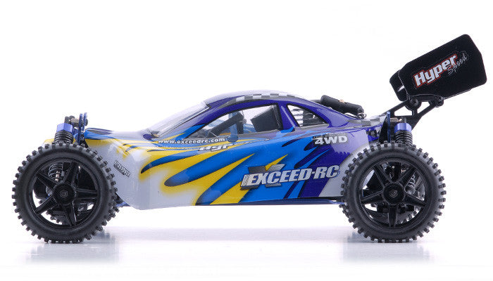 Exceed RC Hyper Speed Beginner Version 1/10 2.4Ghz .16 Engine Nitro Powered Off Road - Venom Motorsports   - 1