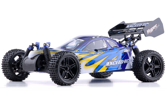 Exceed RC Hyper Speed Beginner Version 1/10 2.4Ghz .16 Engine Nitro Powered Off Road - Venom Motorsports   - 2
