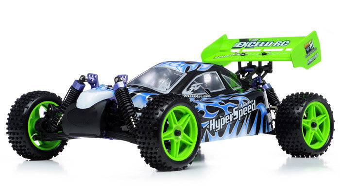 Exceed RC Hyper Speed Beginner Version 1/10 2.4Ghz .16 Engine Nitro Powered Off Road - Venom Motorsports   - 5