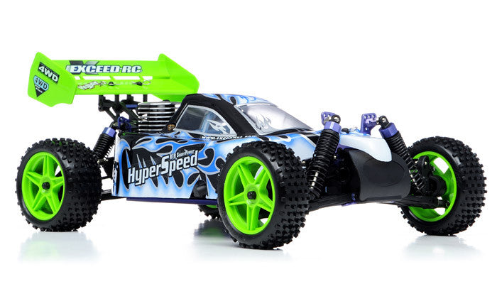 Exceed RC Hyper Speed Beginner Version 1/10 2.4Ghz .16 Engine Nitro Powered Off Road - Venom Motorsports   - 6