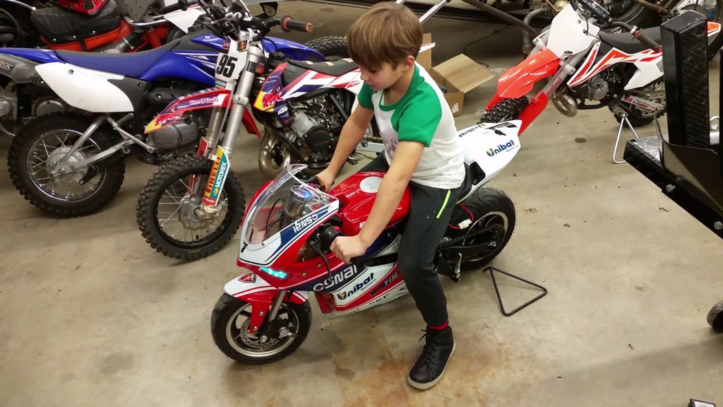 Venom x15 Kids Super Pocket Bike | 90cc Four Stroke | Automatic Transmission