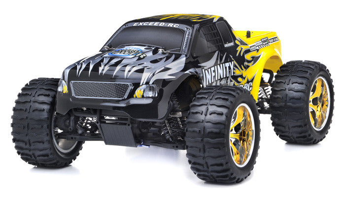 Exceed RC Infinitve Nitro Gas Powered Off Road Monster 1/10 2.4Ghz 4WD - Venom Motorsports   - 3
