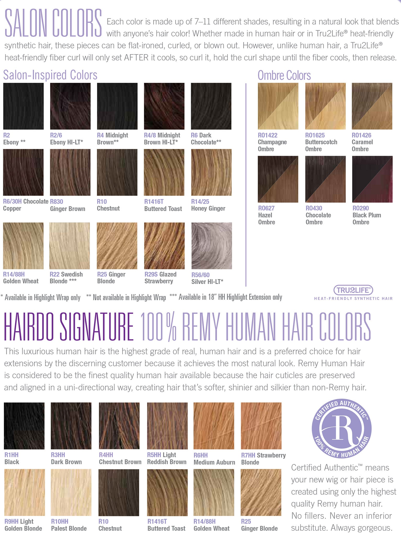 Color charts infinity wigs hairdo nvjuhfo Image collections