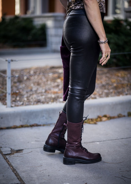 Legging long - vegan skin