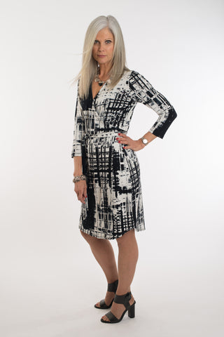Bodil 3/4 sleeve dress
