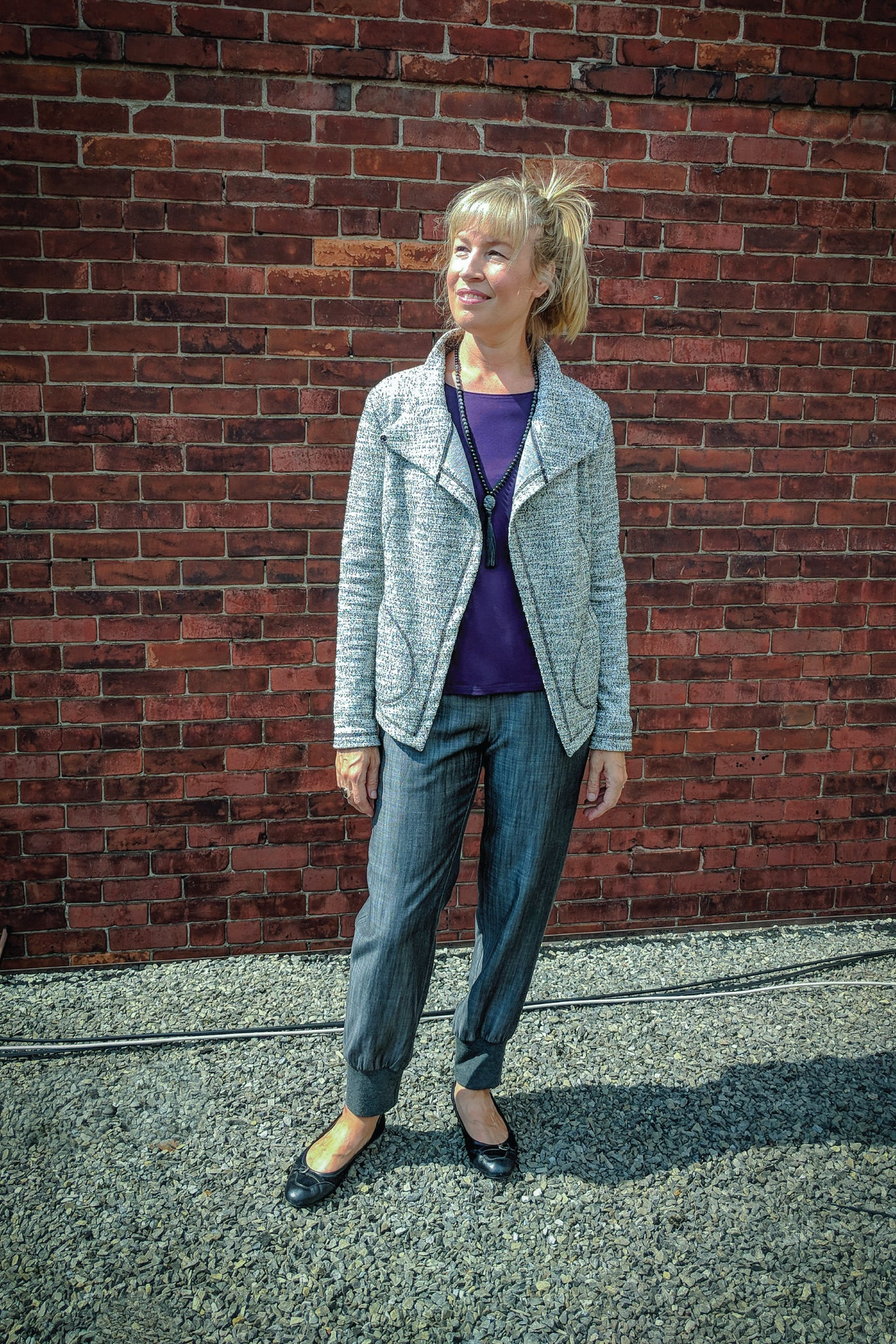 Alina Jacket light tweed