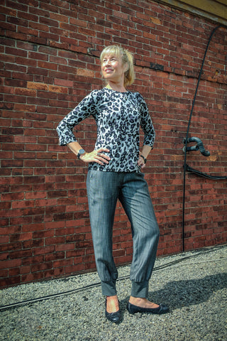 Holly Top Leopard