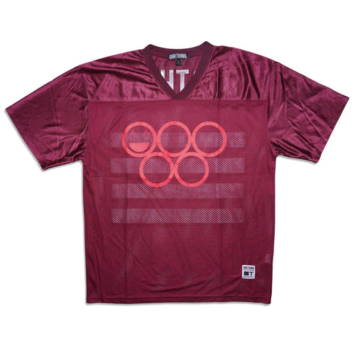 Our Thing Jersey Maroon