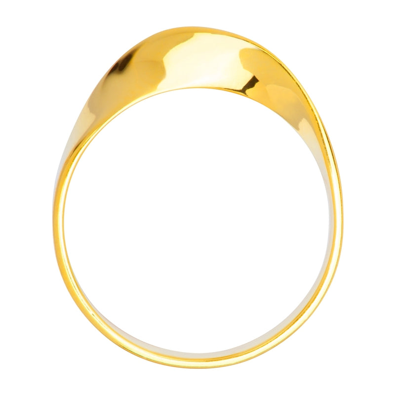 LULU Copenhagen 180 RING Rings Gold Plated