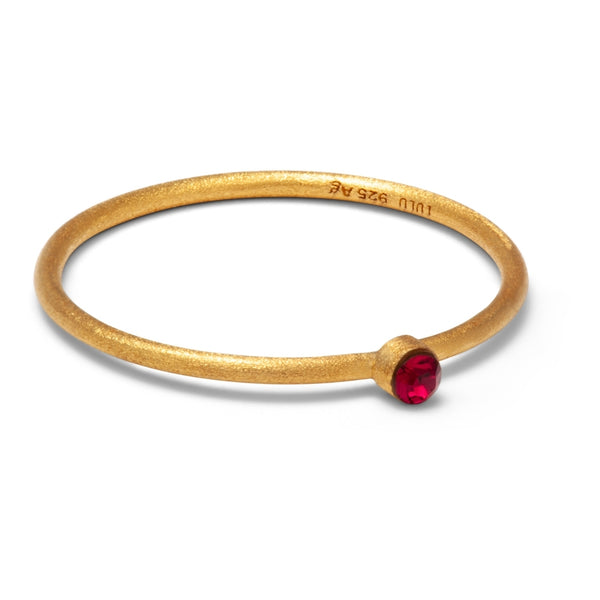 LULU Copenhagen BLING RING Rings Red