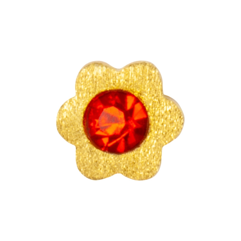 LULU Copenhagen BLOMST 1 PCS Ear stud, 1 pcs Red