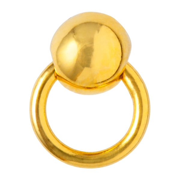 LULU Copenhagen BULL 1 PCS Ear stud, 1 pcs Gold Plated