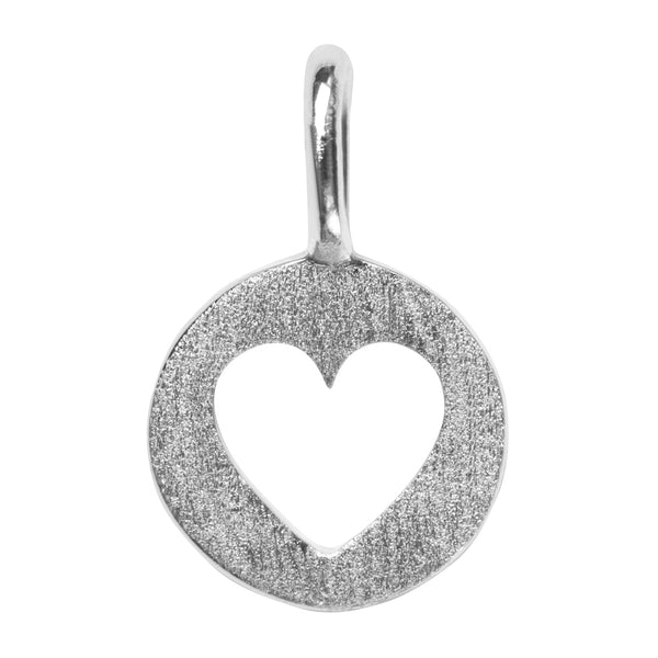 LULU Copenhagen CUT OUT HEART Pendents Silver