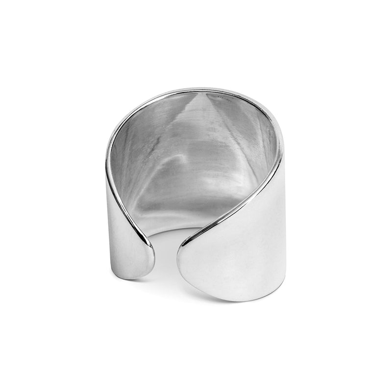 LULU Copenhagen ELLIPSE RING Rings Silver