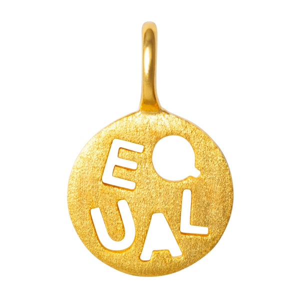 LULU Copenhagen EQUAL Pendents Gold Plated