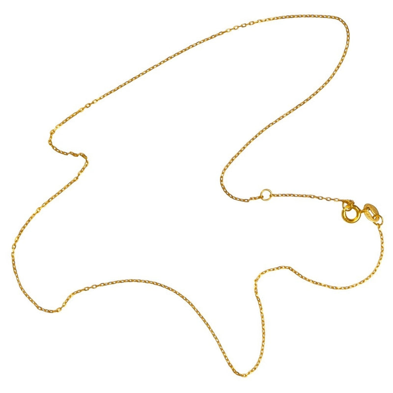 LULU Copenhagen FACET NECKLACE - LONG Necklaces Gold plated